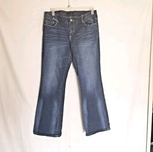 Seven7 Womens Bootcut Stretch Jeans Size 16